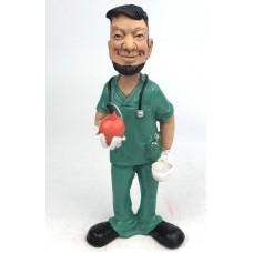 Beeldje - polystone - verpleegkundige - verpleger - broeder - Warren - Stratford