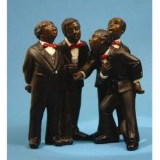 Beeldjes All That Jazz singers quartet - kwartet zangers