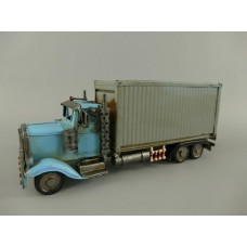 Blikken - torpedo truck container vrachtwagen containertruck