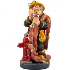 Brandweerman beeldje van Profisti