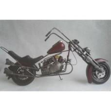Chopper motor blikken motor