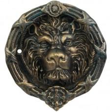 Deurklopper in vorm van leeuwenkop - gietijzer 970pj