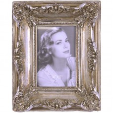 Fotolijstje in ouderwetse stijl - zilverkleurig