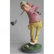 Golfer beeldje van Profisti 14orp