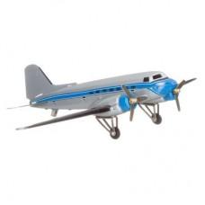 Grijs vliegtuig Paya replica blikken speelgoed 629jm