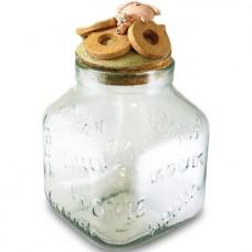 Koekjespot Paolo Chiari varkentje ronde koekjes