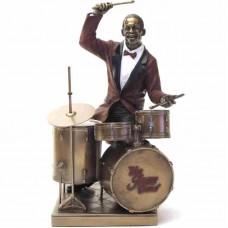 Drumstel van le monde du jazz beeldje