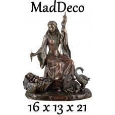 MadDeco - beeldje - Frigga - Freya - Noorse - Godin - vruchtbaarheid - liefde