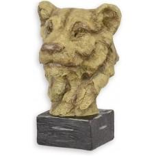 MadDeco - beeldje - Leeuw - Leeuwin - op - sokkel
