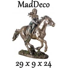 MadDeco - beeldje - Rhiannon - Keltische - godin - paarden