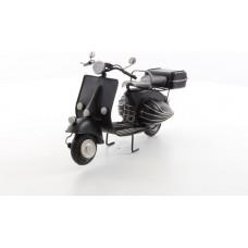 MadDeco blikken model Vespa - scooter - zwart