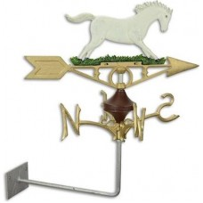 MadDeco gietijzer windvaan paard - schimmel