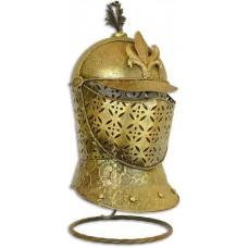 MadDeco - metalen - decoratie - ridder - helm - franse - lelie