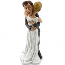 Mobiele eenheid - funny wedding beeldje Warren Stratford 2002