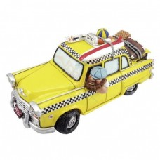 New York Cab taxi spaarpot beeldje Warren Stratford