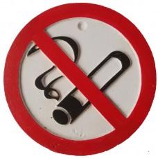 No smoking bordje van gietijzer 31sc
