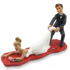 Te laat funny wedding beeldje van Warren Stratford 0102