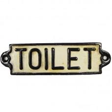 Toilet bordje gietijzer