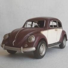 Volkswagen Kever - classic - blikken woondecoratie - met VW licentie - 34x13x12cm