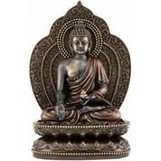 Beeld - boeddha - medicine - buddha - healing - polystone
