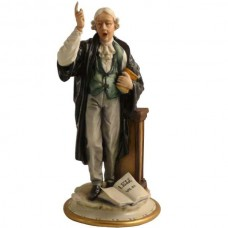 Advocaat beeldje van Capodimonte porselein 785