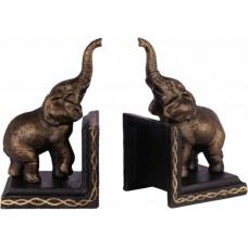Boekensteunen olifant gietijzer maddeco