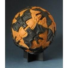 beeld sphere Angels and Devils M C Escher