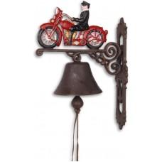 deurbel motorrijder gietijzer maddeco