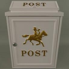 wandbrievenbus post paard  maddeco