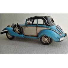 blikken  auto  mercedes  540k  1926  blauw  blik