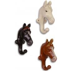 paarden hoofden wandhaken maddeco