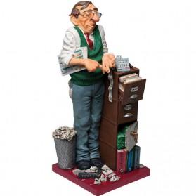 Boekhouder - accountant beeldje van Forchino