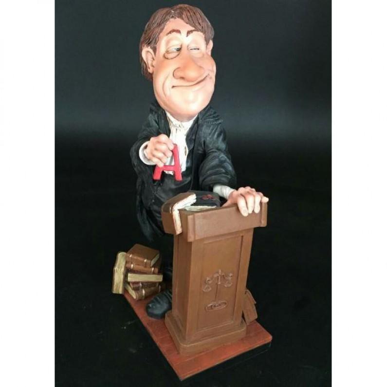 Advocaat beeldje Warren Stratford 25 cm 110W