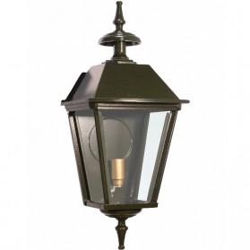 Aluminium wandlamp - groen - vierkant - buitenverlichting