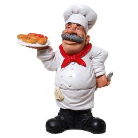 Bakker - beeldje – beroepen – polyresin - funny jobs – warren stratford – 12x8x16 cm