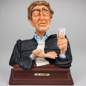 Beeldje advocaat evidence - forchino - 60758of - 17x13,5x21cm