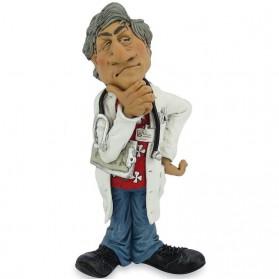 Arts met stethoscoop beeldje Warren Stratford 9202