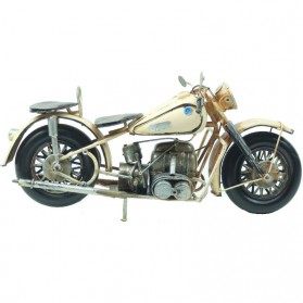 Harley Davidson van blik - beige