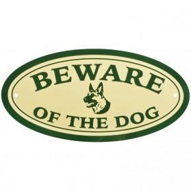 Beware of the dog aluminium bordje 22bh