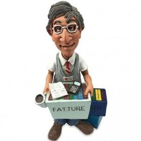 Boekhouder - accountant beeldje Warren Stratford 7569