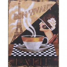 Bon Vivant koffie decoratie bordje 633sn