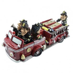 Brandweerauto spaarpot beeldje Warren Stratford 866