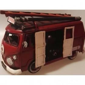 Brandweerauto in vorm van Volkswagen bus sl944