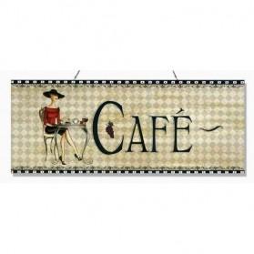 Cafe blikken horeca decoratie bordje 880sn