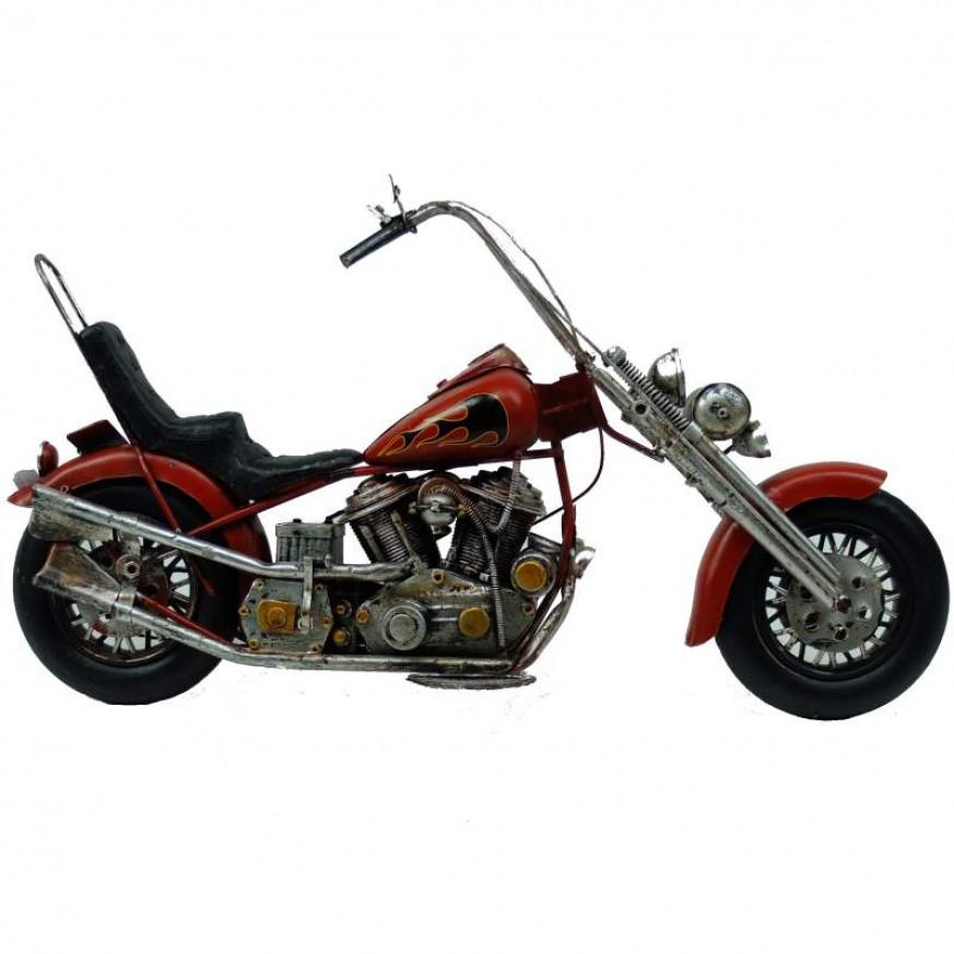Blikken motor en scooter