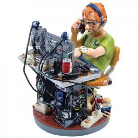 Computer expert beeldje van Profisti