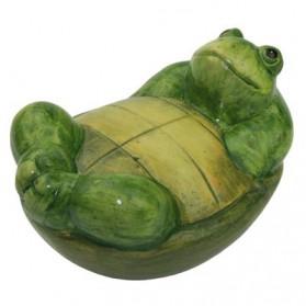 Drijvende schildpad van keramiek voor vijver of tuin