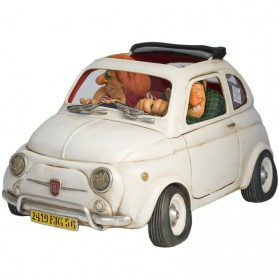 Fiat 500 - the Little Jewel van Forchino