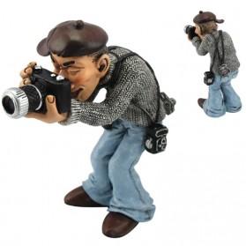 Fotograaf met camera beeldje Warren Stratford 6519