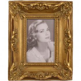 Fotolijstje in ouderwetse stijl - goudkleurig